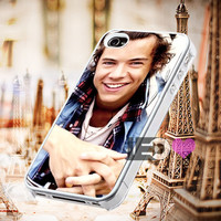 Harry Styles Bandana One Direction for iPhone 4/4s,5,5s,5c - SG S2,S3,S4 - SG S3 Mini,SG S4 Mini - iPod 4, iPod 5 - Htc One