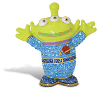 Toy Story Alien Figurine by Arribas - Version 1 - Jeweled