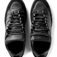 Damir Doma Black Fune Low Layered Sneakers