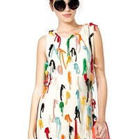 Moschino Close Ties Dress