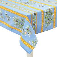 Provence Olives Tablecloth, BlueMIERCO