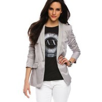 Armani Exchange Long Line Blazer