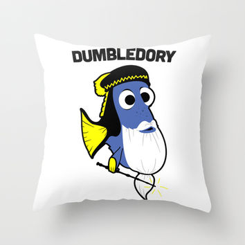 Dumbledory Throw Pillow by LookHUMAN | Society6