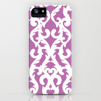 Modern Baroque Purple iPhone & iPod Case by Aimee St Hill