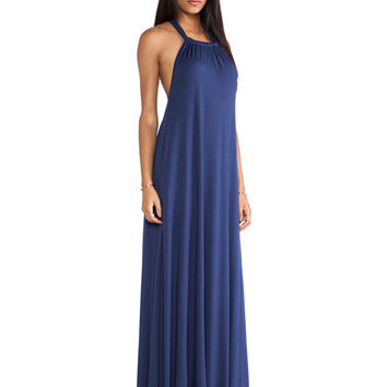 Rachel Pally Renee Halter Dress in Deep