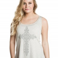 CROSS CAVIAR BEAD GRAPHIC TANK