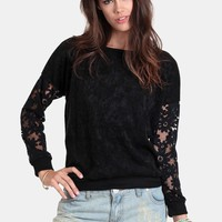 Fighting Chance Floral Sweater