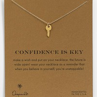 Dogeared 'Reminder - Confidence Is Key' Boxed Pendant Necklace | Nordstrom
