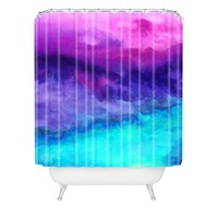 DENY Designs Jacqueline Maldonado The Sound Shower Curtain, 69 by 72-Inch