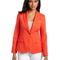 Vince Camuto Women's One Button Blazer