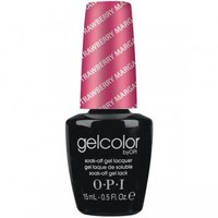 OPI Gelcolor Collection Nail Gel Lacquer, Strawberry Margarita, 0.5 Fluid Ounce
