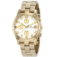 Marc Jacobs Women's 'Henry' Goldtone Chronograph Watch