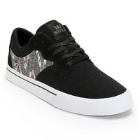 Supra Axle Black, Desert, & White Canvas Skate Shoe