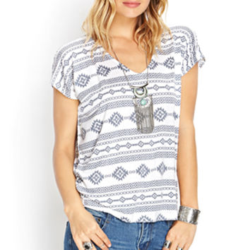 Southwest Bound Knit Tee
