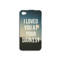 Beautiful Bible Verse iPhone Case Christian Quote Cute iPod Cover iPhone 4 iPhone 5 iPhone 5s iPhone 4s iPhone 5c iPod 4 Case iPod 5 Case