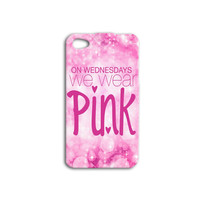 Mean Girls Inspired Quote iPhone Case Funny Pink Girl iPod Case iPhone 4 iPhone 5 iPhone 5s iPhone 4s iPhone 5c Case iPod 4 Case iPod 5 Case