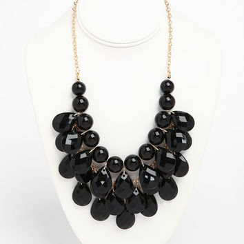 TEARDROP BEADED NECKLACE