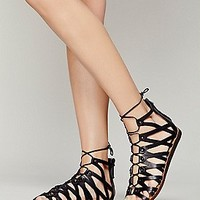 Santa Monica Lace Up Sandal