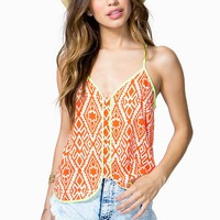 Electric Tribal Cami