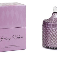Spring Eden 14 oz Diamond Jar CandleD.L. & CO.