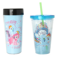 My Little Pony Hot & Cold Travel Mug & Cup Set