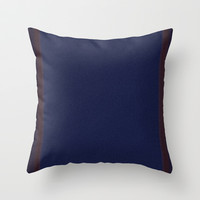 Re-Created Interference ONE No. 22 Throw Pillow by Robert S. Lee