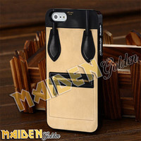 Celine Luggage Cream Bag for iPhone 4/4s/5/5s/5c - iPod 4/5 - Samsung Galaxy s3 i9300/s4 i9500 Case