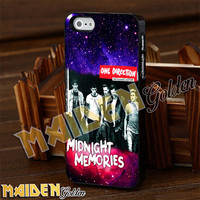 One Direction Midnight Galaxian for iPhone 4/4s/5/5s/5c - iPod 4/5 - Samsung Galaxy s3 i9300/s4 i9500 Case