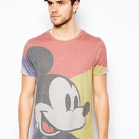 ASOS T-Shirt With Mickey Mouse Print