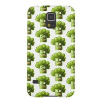 Funny Cartoon Broccoli Pattern
