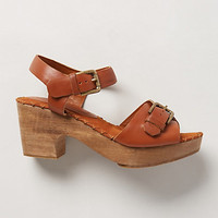 Bandera Wooden Clogs