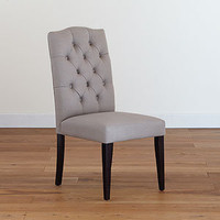Grey Tufted Chair, Set of 2   Dining Room Furniture  Furniture   World Market