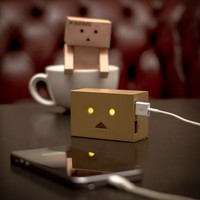 Robot Head Portable Charger