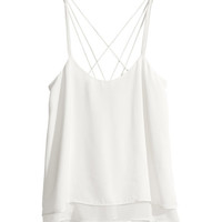 H&M - Satin Tank Top -