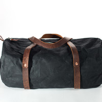 The Weekender - Waxed Black