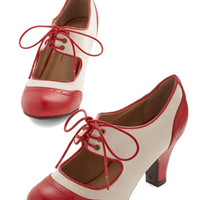 The Best of Times Heel in Red | Mod Retro Vintage Heels | ModCloth.com