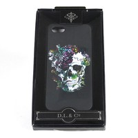 """Floral Skull"" iPhone 5 Case by D.L. & Co."