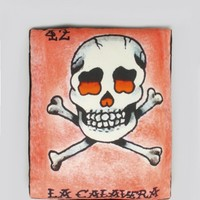 La Calavera Pillow