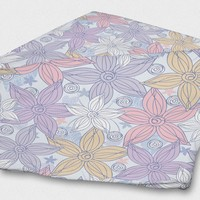 Dancing Flowers Blanket