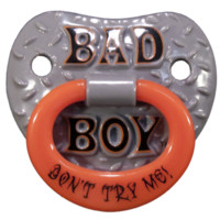 Billy Bob Pacifier Baby Bad Boy Pacifier | Super Fun Time Gifts - Quirky, Trendy, Fun!