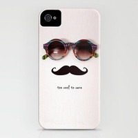 je m'en fou iPhone Case by Basilique | Society6