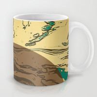 Full Moon Mug by SensualPatterns