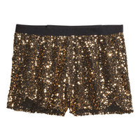 H&M Sequined shorts KN199