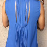 Sleeveless Fringe 'Dallas' Blouse
