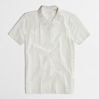 Factory peter pan eyelet tee - short sleeve - FactoryWomen's Knits & Tees - J.Crew Factory