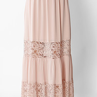 Lady Lace Maxi Skirt