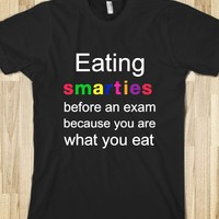 Eating Smarties Before Exam