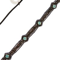 Deepa Gurnani Mini Diamond Shaped Headband