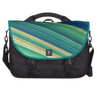 """Ocean"" Striped Pattern Commuter Bag @ Zazzle.com"