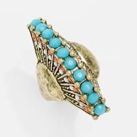 Carole Beaded Peacock Ring (Juniors) (Online Only) | Nordstrom